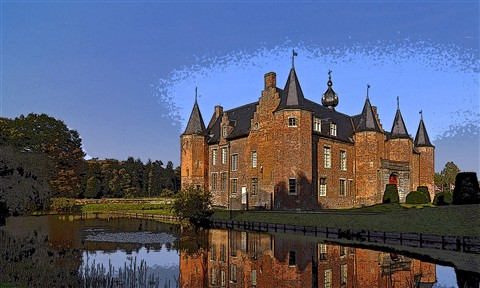 Castle of Rumbeke ( Belgium )