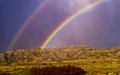 Double Rainbow at Theodore Roosevelt National Park