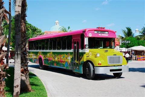 Xcaret-bus