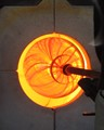 Glass Blowing Kiln Fire