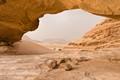 Wadi Rum natural arch