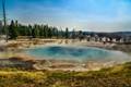 Celestine Hot Spring at Yellowstone
