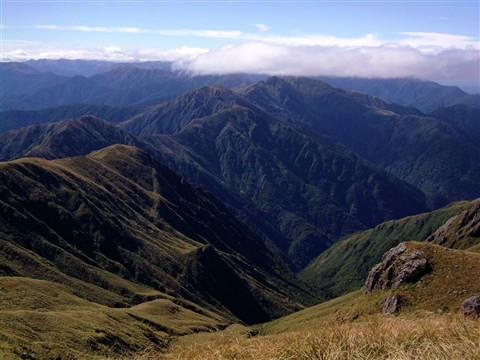 The Tararua Ranges, New Zealand