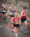 London Marathon 2015, Ladies World Record holder Paula Radcliffe runs her final competitive race.