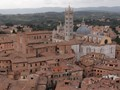 Siena view from Torre del Mangia