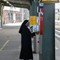 Nun buying train ticket-20130901 - 3745