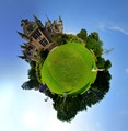 Ecclesgreig Castle Planet