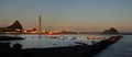 New Plymouth harbour in morning