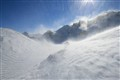 SnowStorm in Swiss Alpes