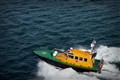 Pilot Boat at Full Throttle