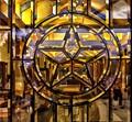GLASS  TEXAS STAR