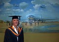 Joanne graduates at Hatfield