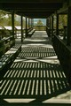 Shaded walkway