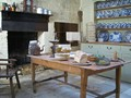 Colonial kitchen, early 19th century