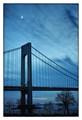 Verrazano-Narrows Bridge at dusk