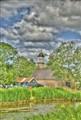 Waddenkerk1-HDR Grunge