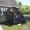 Medieval mill & wheel: