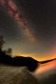 Milky Way above Telemark, August 2013