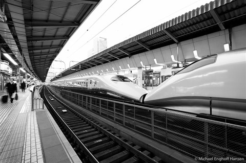Japanese highspeed perspective