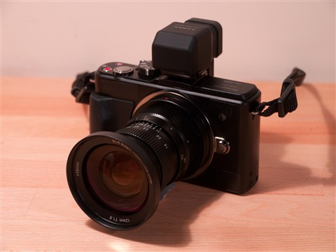 GX1 Hyperprime 12mm
