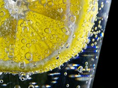 柠檬的饮料
