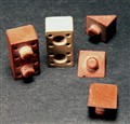 Rubber toy bricks -- 1935-40
