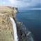 rainbow waterfall (the Kilt Rock, Isle of Skye)