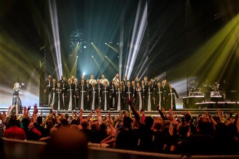 D600 Madonna Concert Image Sample
