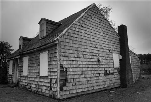Saint Michaels Cottage, B&W