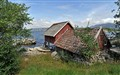 boat shed by the fjord