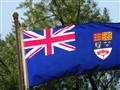 Canada's national blue ensign.