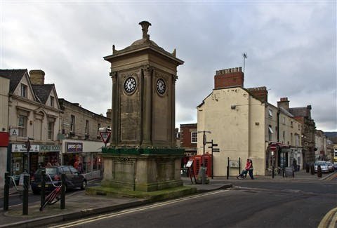 The Four Clocks, Stroud, Gloucestershire