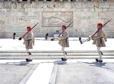 Changing of the Guard Trio Athens Challenge Dec 20'12 P1010920
