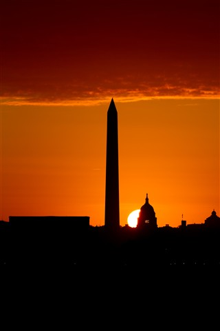 Sunrise, Washington, DC