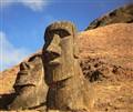 Easter Island rock garden