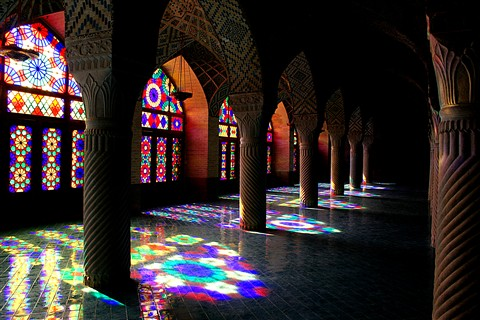 Nasirolmolk Mosque-Shiraz