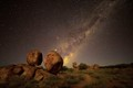 Devil's Marbles by starlight