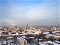 Cold day in Ekaterinburg