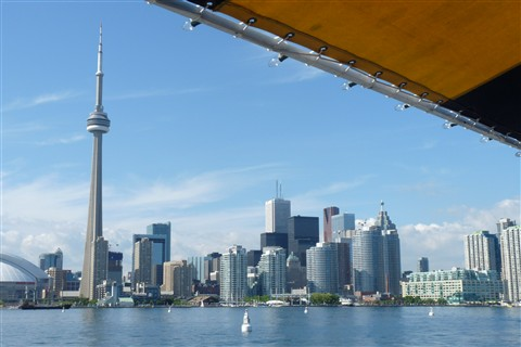 Toronto Skyline from Boat #2