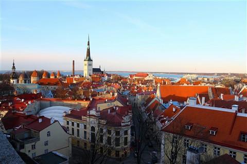 Tallina old town