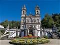 Santuario do Bom Jesus do Monte;  Roman Catholic Pilgrimage Site; Praga Portugal