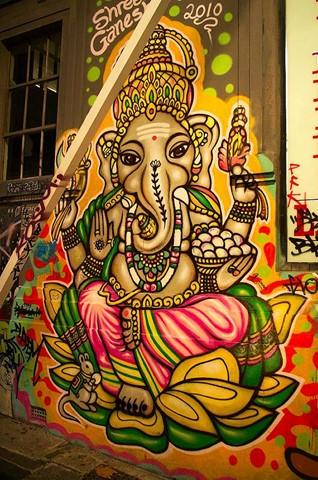 Ganesh - Hosier Lane Mlebourne