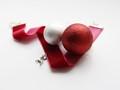 Soft Velvet Ribbon&Hard Christmas Tree Decor