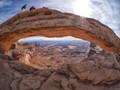 Mesa Arch fisheye