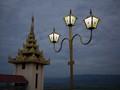 burmese lamppost