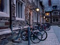 Bicycles at Twilight