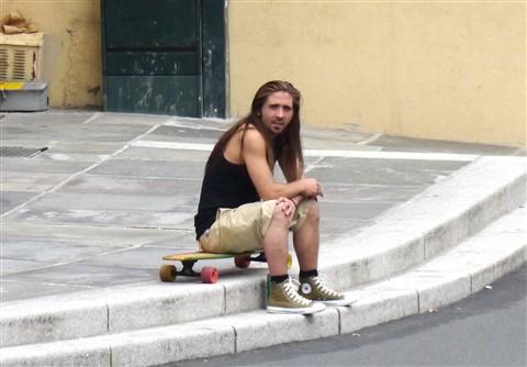 Veteran Skateboarder