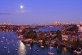 Supermoon over Sydney
