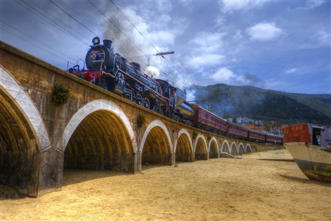 Kalk Bay Steam Train