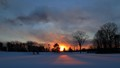 Pillars of Sunset Light